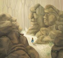 Valley of the Rock Men by fizzyjinks