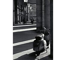 Scooter in Rome Photographic Print