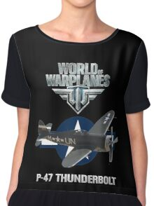World of Warplanes P47 Thunderbolt Chiffon Top