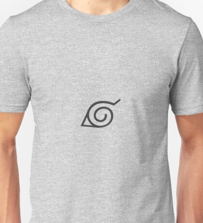Symbole de Konoha (Naruto) Unisex T-Shirt