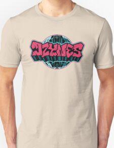 Graf'n'Globe (Pink) Unisex T-Shirt