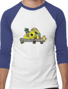 Banana The Hutt Men's Baseball ¾ T-Shirt