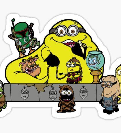 Banana The Hutt Sticker