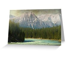 Jasper National Park, Alberta, Canada Greeting Card