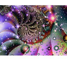 Cosmic Spiral Photographic Print