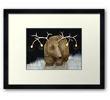 Glow me the Way Framed Print