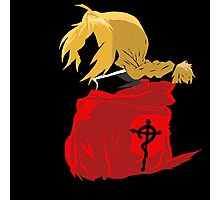 Edward Elric, The FullMetal Alchemist Photographic Print