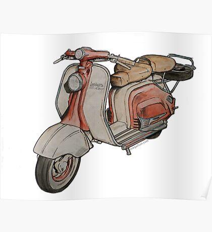 Lambretta 150LD Mk2 Poster