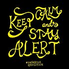 Keep calm and stay alert by siutaam