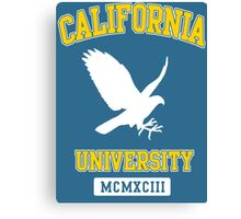 California University Falcons Canvas Print