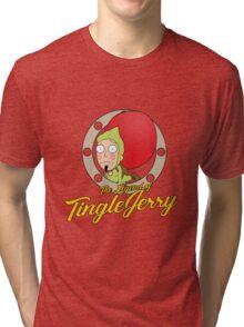 The Legend of TingleJerry Tri-blend T-Shirt