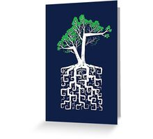 Square Root Greeting Card