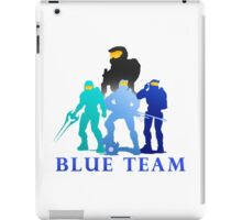 Blue Team iPad Case/Skin