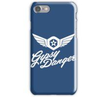 Gipsy Danger white iPhone Case/Skin