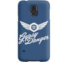 Gipsy Danger white Samsung Galaxy Case/Skin