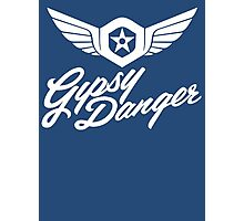 Gipsy Danger white Photographic Print