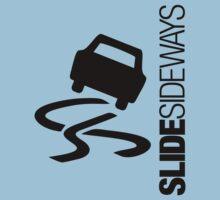 Slide Sideways (1) Kids Tee