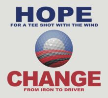 Obama Golf Philosophy by heliconista
