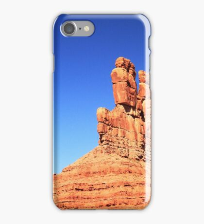 Battleship Butte and Moonset iPhone Case/Skin