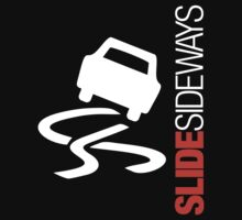 Slide Sideways (2) Kids Tee