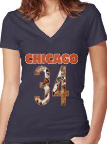 Payton - 34 Women's Fitted V-Neck T-Shirt