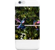 Hummer Face-Off Watercolor iPhone Case/Skin