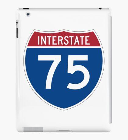 Interstate 75 I75 Sign iPad Case/Skin