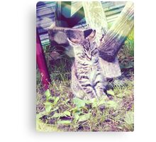 Retro portrait of WaiFai 4 Canvas Print