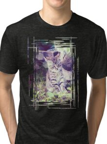 Retro portrait of WaiFai 4 Tri-blend T-Shirt