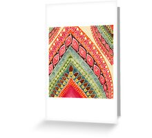 Indian Spirt Greeting Card