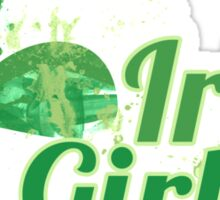 Irish Girl Sticker