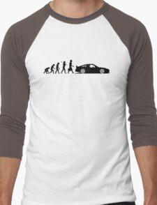 Evolution of Pilot (1) Men's Baseball ¾ T-Shirt