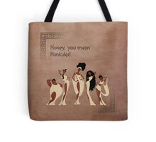 Hercules inspired design (The Muses). Tote Bag