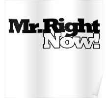 Mr Right NOW Poster