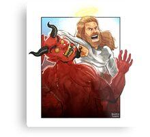 Christ Hero Metal Print