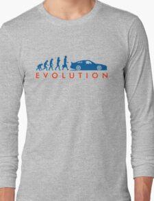 Evolution of Pilot (3) Long Sleeve T-Shirt