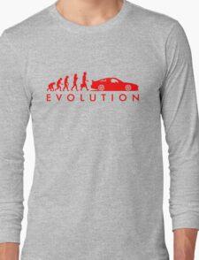 Evolution of Pilot (4) Long Sleeve T-Shirt