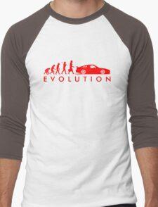 Evolution of Pilot (4) Men's Baseball ¾ T-Shirt