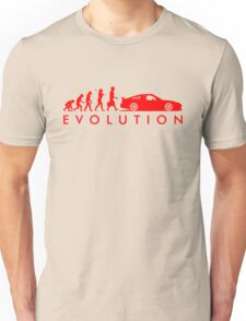 Evolution of Pilot (4) Unisex T-Shirt