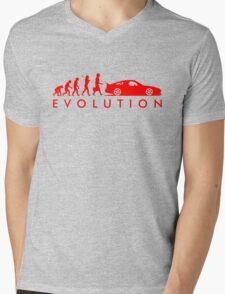 Evolution of Pilot (4) Mens V-Neck T-Shirt