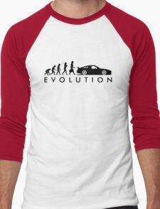 Evolution of Pilot (5) Men's Baseball ¾ T-Shirt