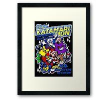KATAMARIMON Framed Print