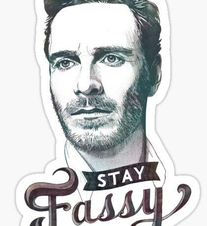 Stay Fassy Sticker