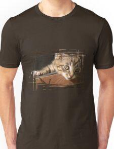 Striped kitten Unisex T-Shirt