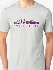 Evolution of Pilot (7) Unisex T-Shirt