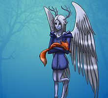 Winter Faun by OddworldArt