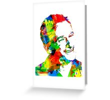 Robin Williams Watercolor Greeting Card