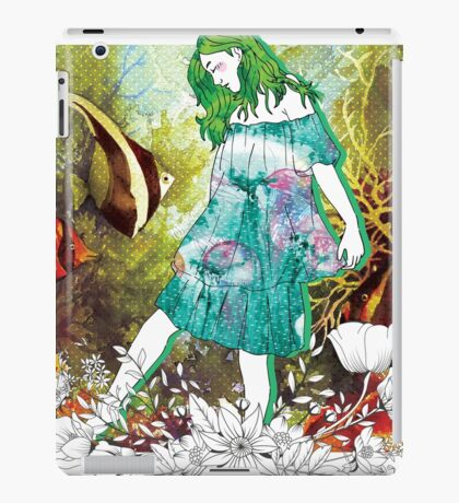Girl's Diary Collection - Water iPad Case/Skin