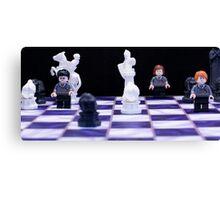 Harry Potter Chess Canvas Print