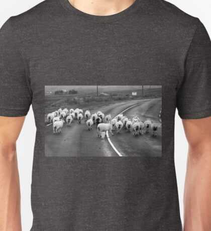 Traffic Jam - Donegal Style Unisex T-Shirt